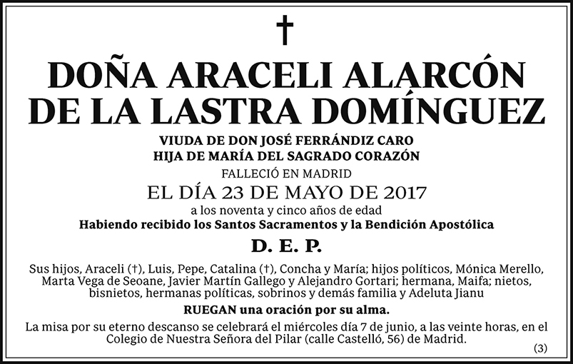 Araceli Alarcón de la Lastra Domínguez